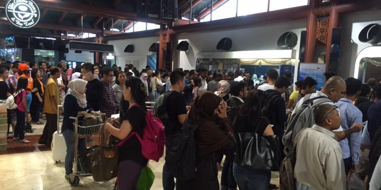 Awal April, Harga Tiket Pesawat Di Bandara Soekarno-Hatta Naik