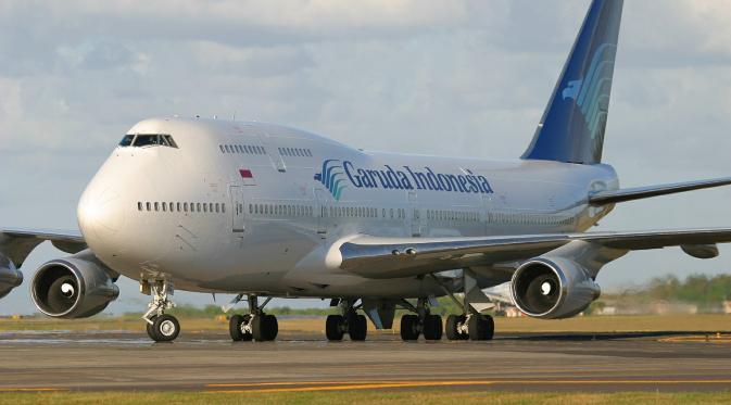 Garuda Targetkan Peningkatan Penjualan Tiket Via Situs Commerce