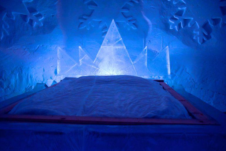 Inilah Hotel Luvattumaa, Hotel Terdingin di Dunia yang Dibuat Dari Es