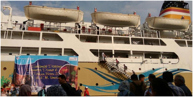 Merayakan Tahun Baru Di Atas Kapal PT Pelni