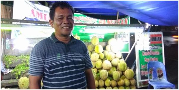 Tips Memilih Durian Ala Pak Irfan