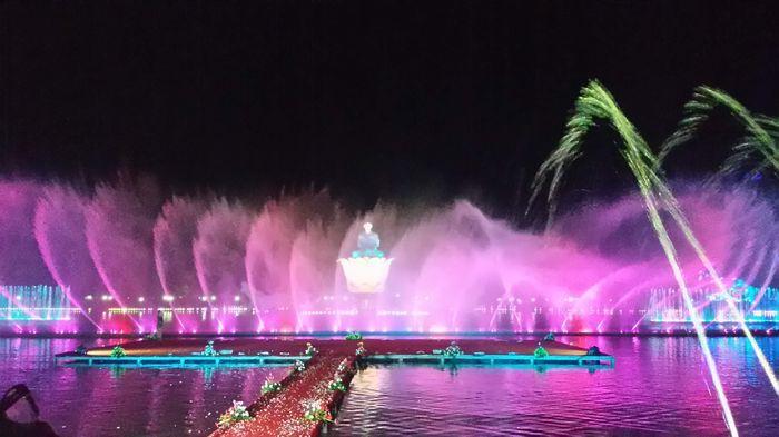 Taman Air Mancur Sri Baduga Telah di Buka Untuk Umum