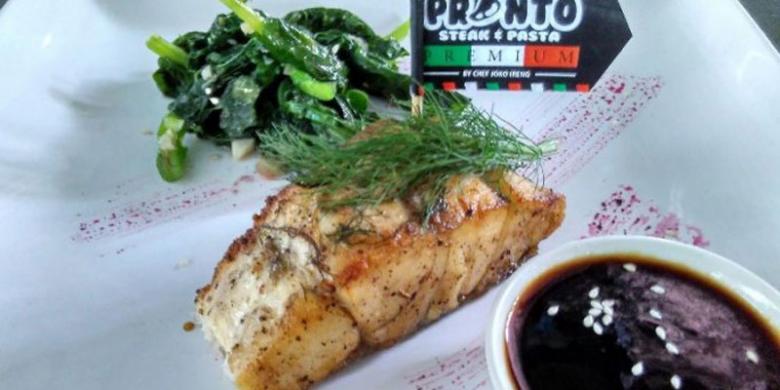 Kafe Pronto Sajikan Menu Ikan Predator
