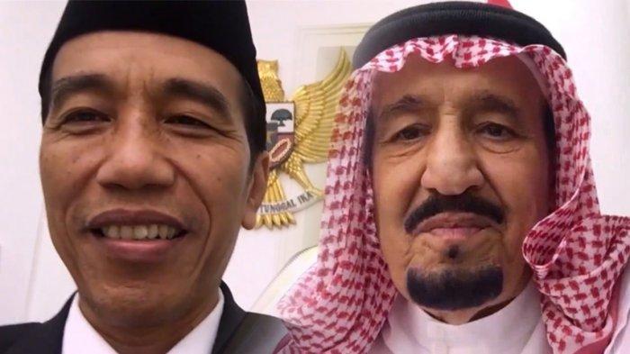 """Ikuti Tren, Presiden JOKOWI """"Nge-Vlog"""" Bareng Raja Salman"""