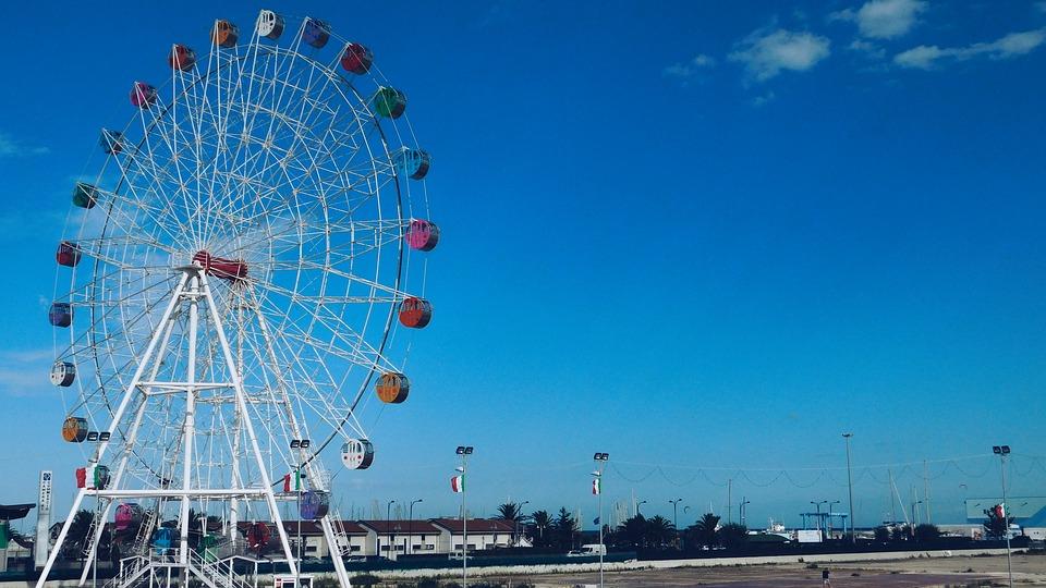 Kabar Gembira bagi Pelancong, Italia akan memiliki Ferris Wheel