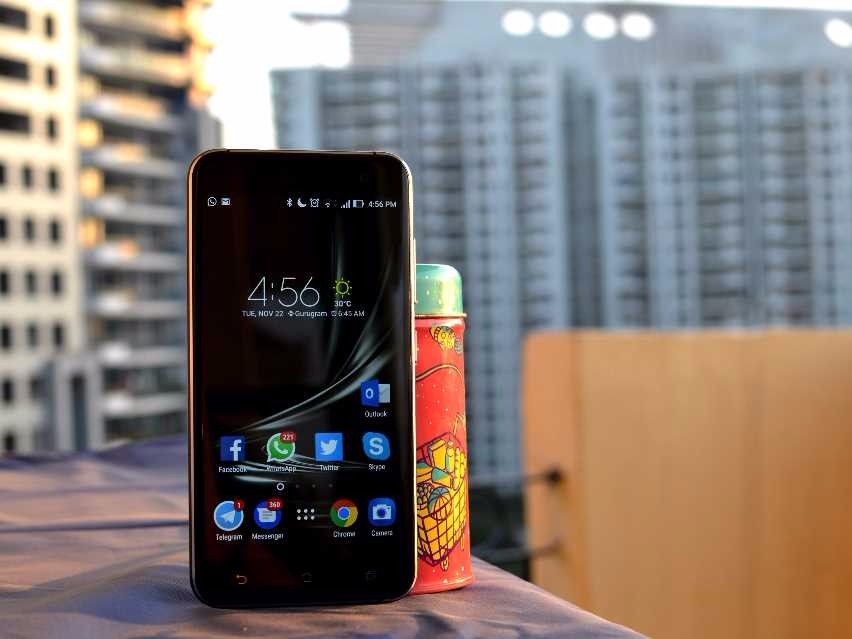 Zenfone 3 Deluxe telah Update Android Nougat 7.0