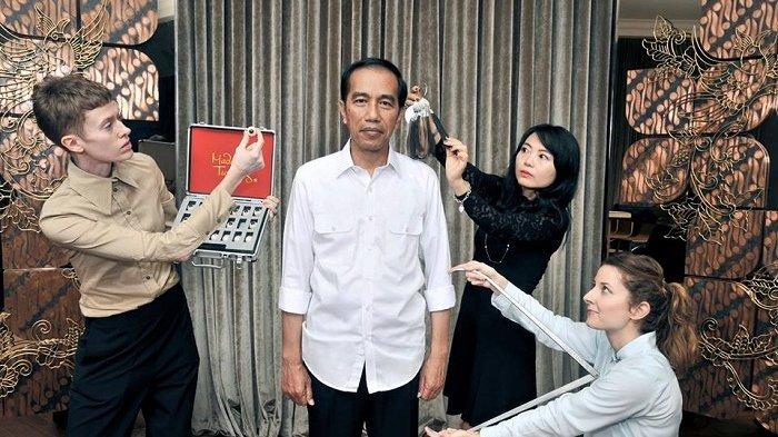Patung Jokowi Di Madame Tussauds Hongkong Akan DiPublikasikan Tahun 2017