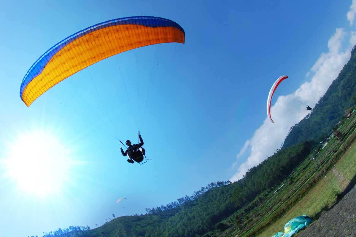 Menantang Adrenalin pada Bukit Mandiangin Lampung