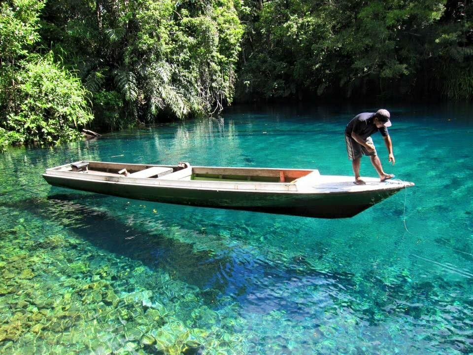 Hanya di Indonesia 2 Danau Sebening Kaca
