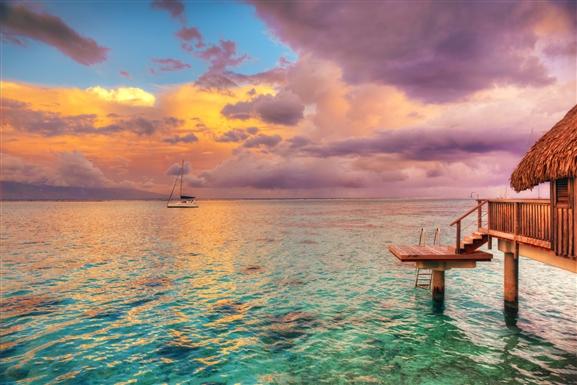 Cantiknya Kemilau Wisata Bahari di Tahiti