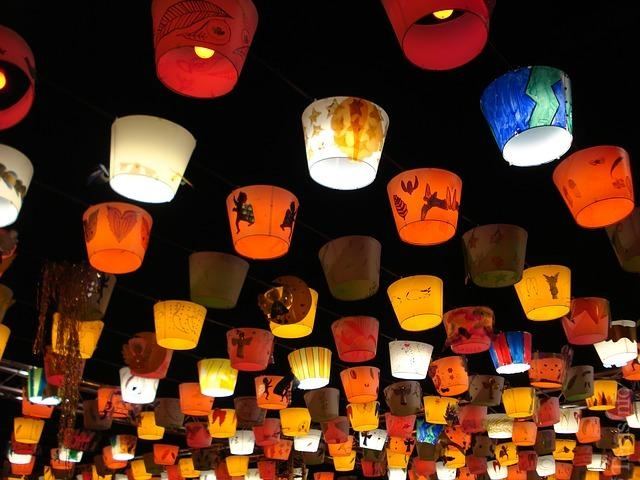 Ribuan Lampion Naga Bakal Hiasi Langit Nusa Dua