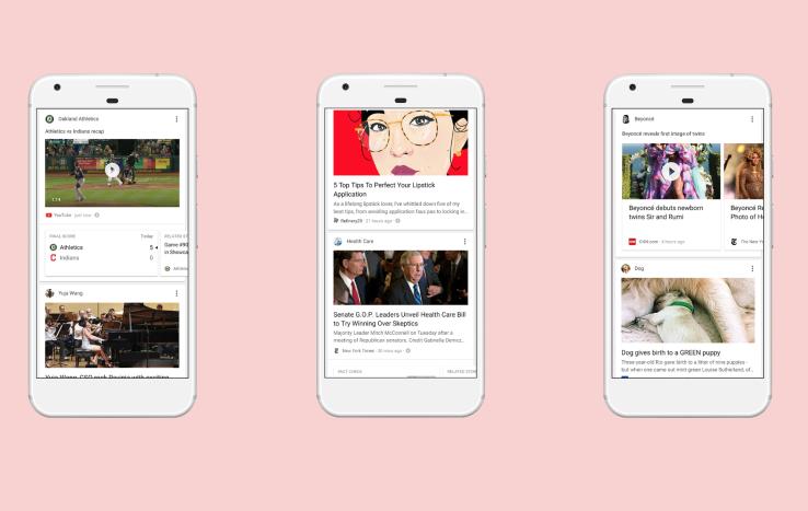 Ingin Saingi Facebook, Google Luncurkan Aplikasi Google Feed.