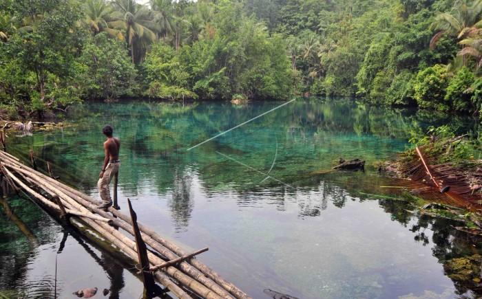 Danau Paisu Pok Jadi Surga Tersembunyi di Sulawesi