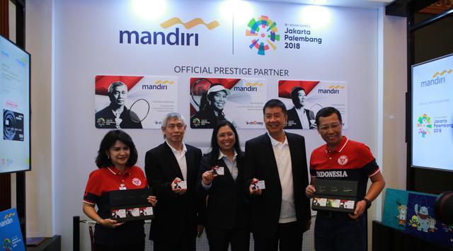 Bank Mandiri Luncurkan Kartu Kredit dan Debit Spesial untuk Asian Games