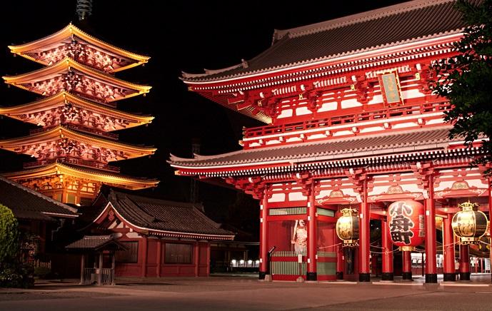Kuil Sensoji Asakusa, Destinasi Ciamik Ketika di Tokyo
