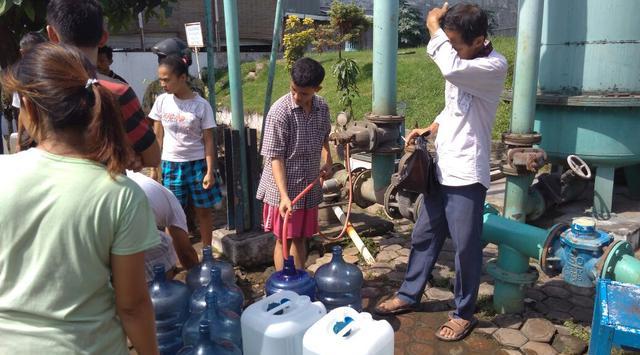 Pipa Induk PDAM Rusak, Pasokan Air Bersih di Medan Macet