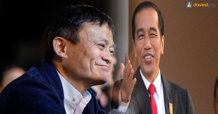 Jokowi-Jack Ma Lakukan Pembahasan  Peningkatan e-Commerce Indonesia