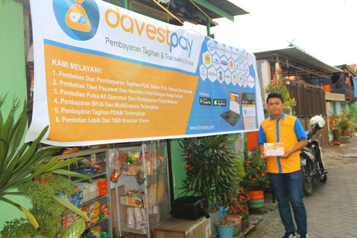 DavestPay dan Bukalapak Gandeng Warung Tradisional Kenalkan Produk Belanja Online