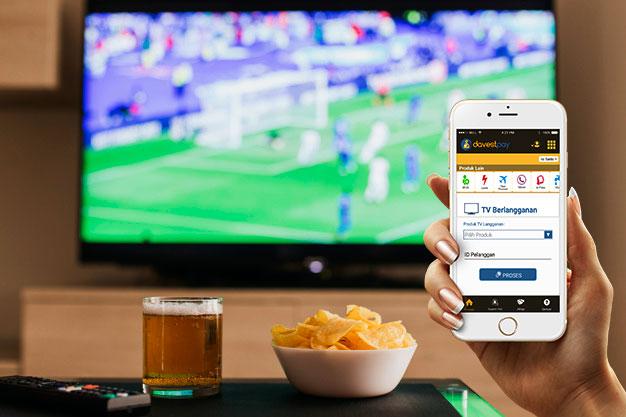 Cara Mudah Bayar TV Berlangganan dari Smartphone