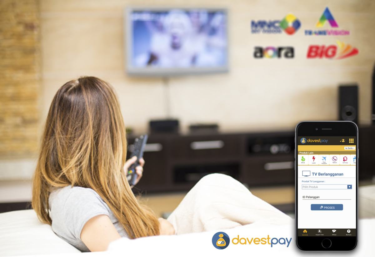 Bayar TV Berlangganan Bisa Lewat Smartphone