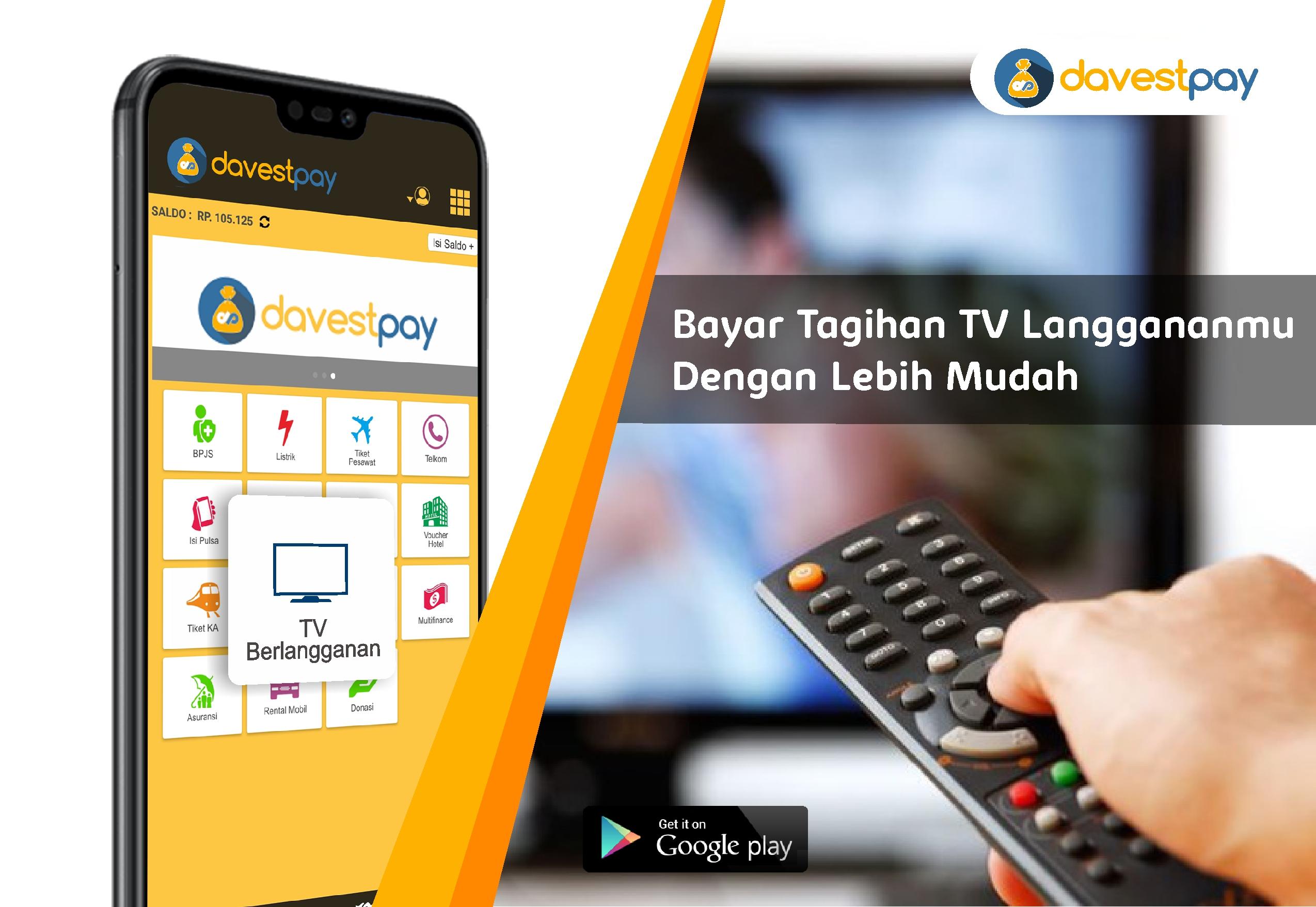 Bayar TV Berlangganan Hanya Lewat Aplikasi!