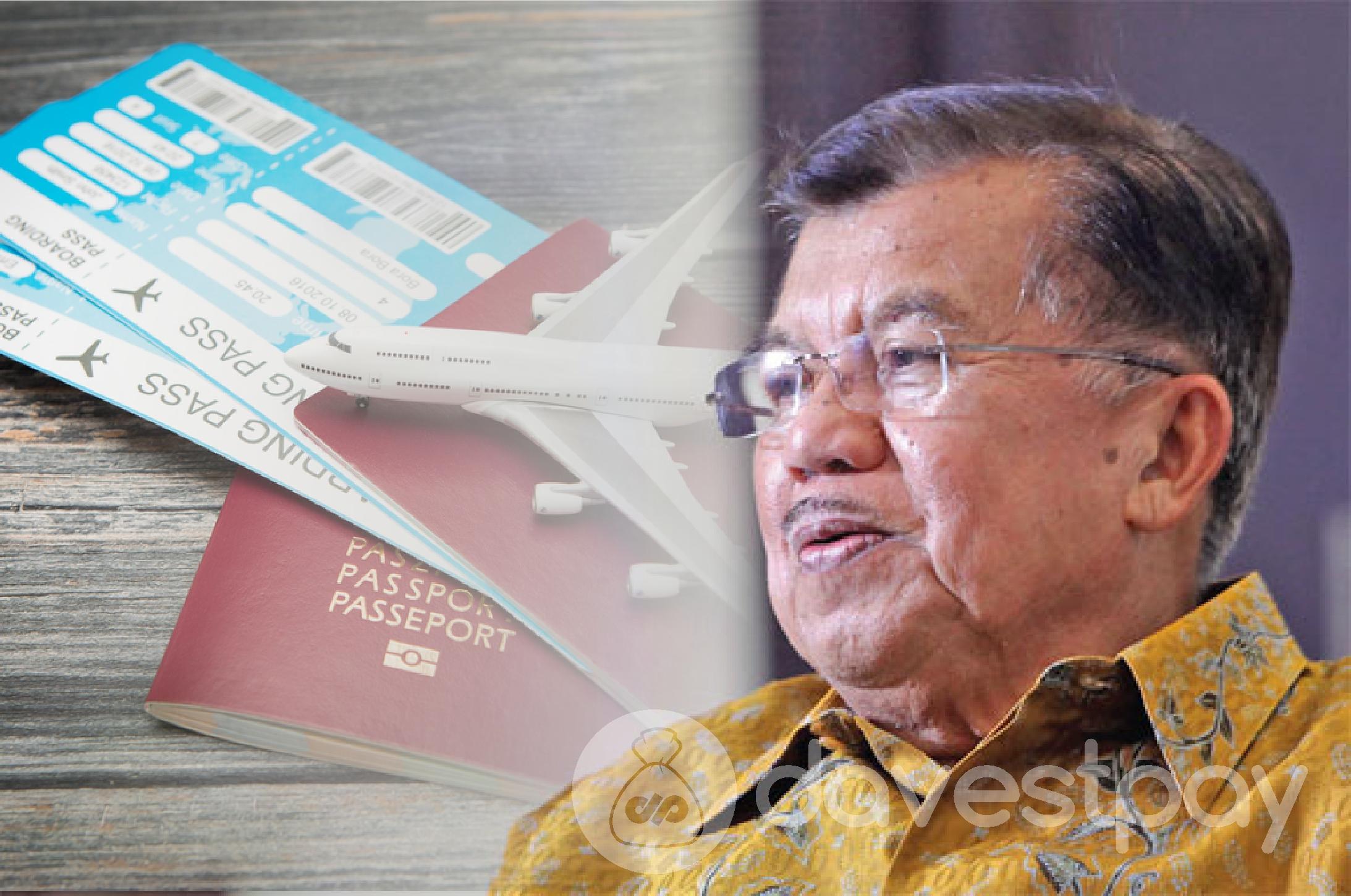 Tiket Pesawat Dinilai Mahal, Apa Tanggapan JK ?